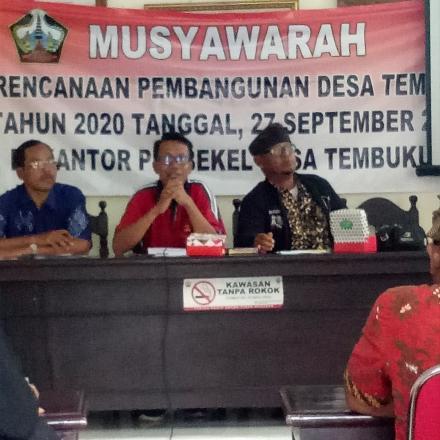 Musyawarah Perencanaan  Pembangunan Desa Tembuku