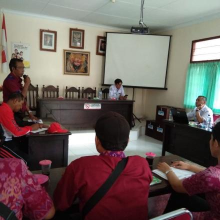 Pendampingan Balai Latihan Masyarakat Kementrian Desa di Desa Tembuku
