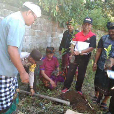 Pembukaan Bina Sosial Masyarakat dari Fakultas Tehnik  Universitas Mahasaraswati Denpasar