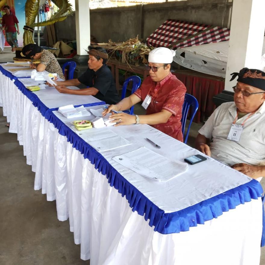 Hasil Pemilihan Perbekel Tembuku Periode 2019 - 2025