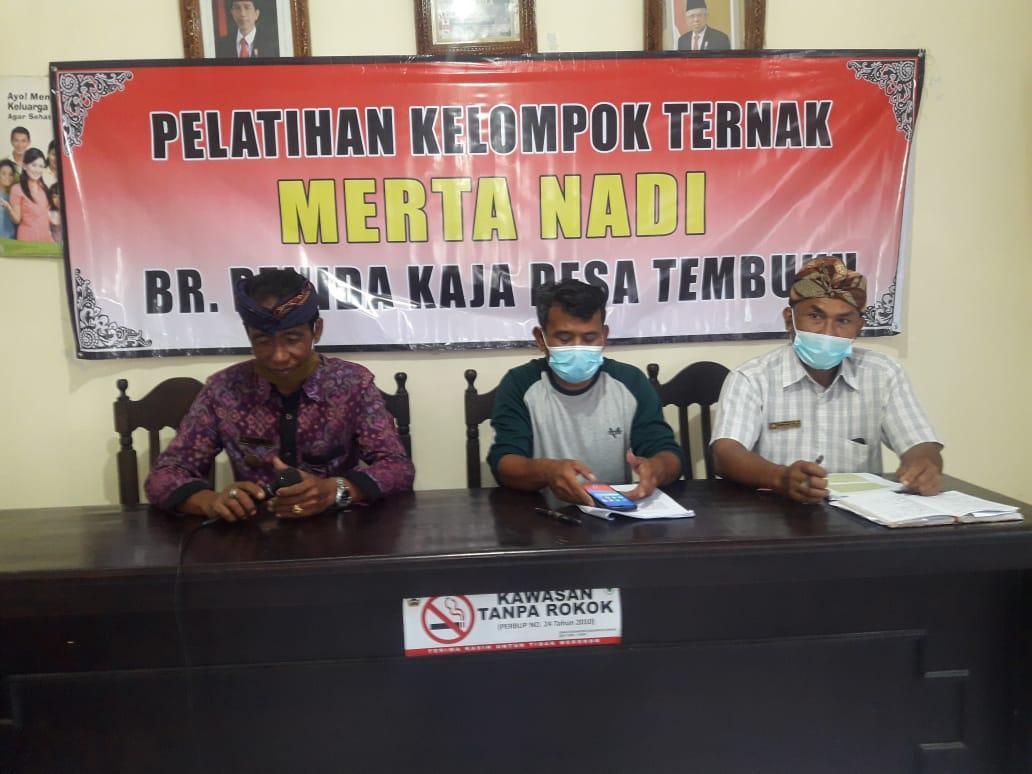 Pelatihan Kelompok  Tani Ternak Merta Nadi Br.Penida Kaja