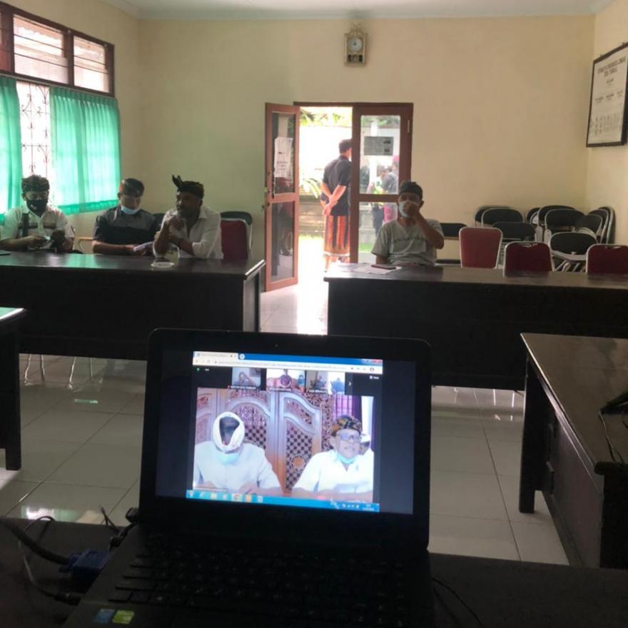 VIDCOM bersama Dinas Pemberdayaan Masyarakat dan Desa Kabupaten Bangli