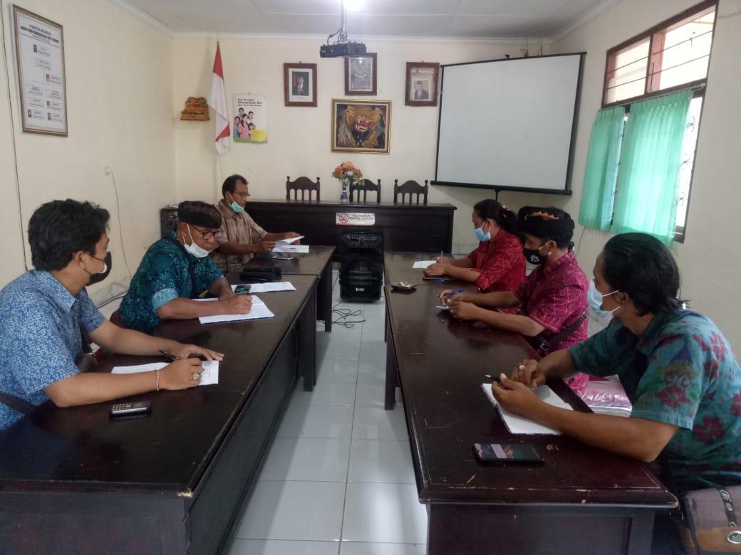 Rapat Rutin Anggota BPD Desa Tembuku