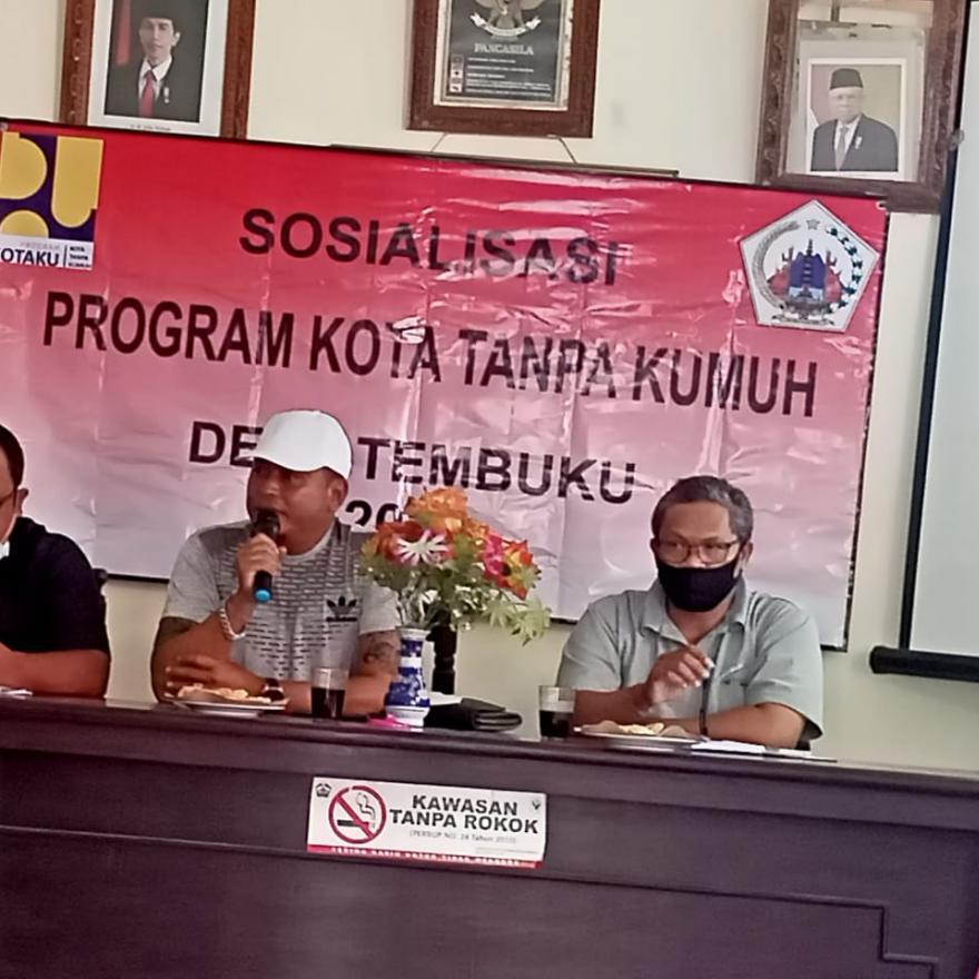 Sosialisasi Program KOTAKU Tanpa Kumuh Desa Tembuku Tahun 2021