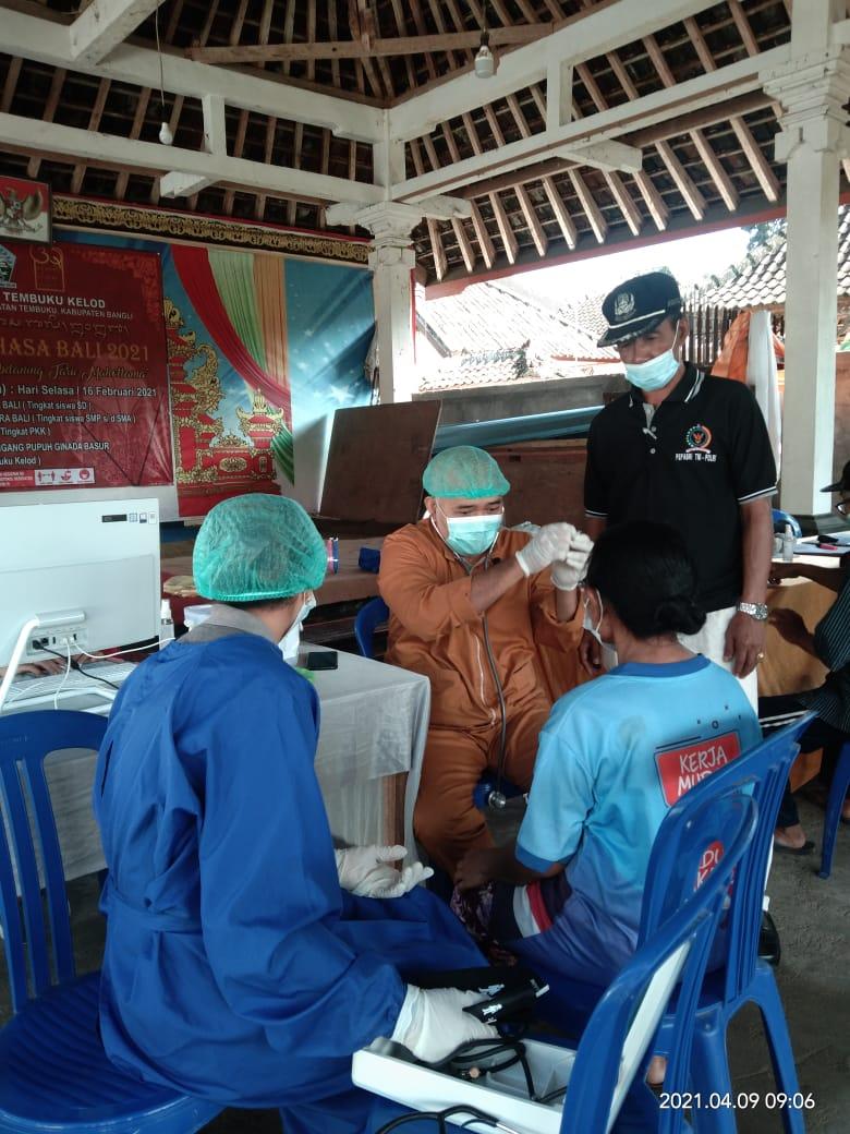 Vaksinasi Lansia Desa Temmbuku Tahap II