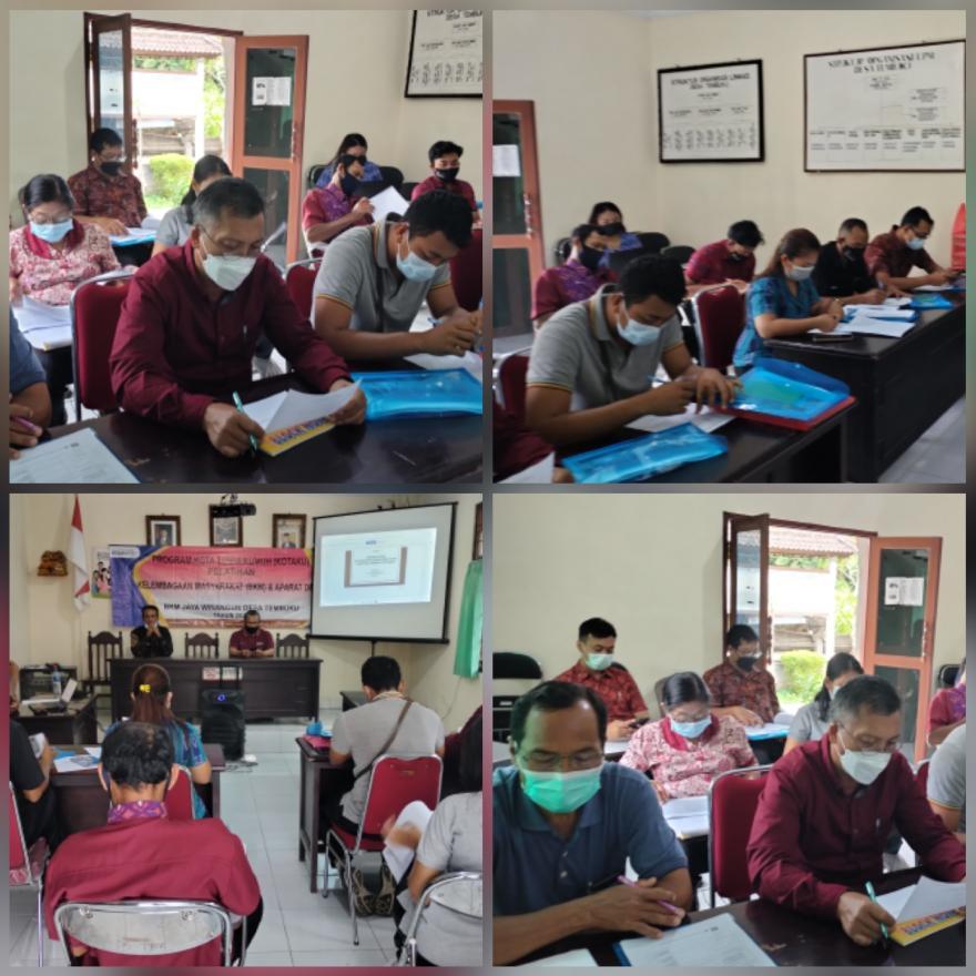 Pelatihan BKM dan Aparat Desa Program KOTAKU