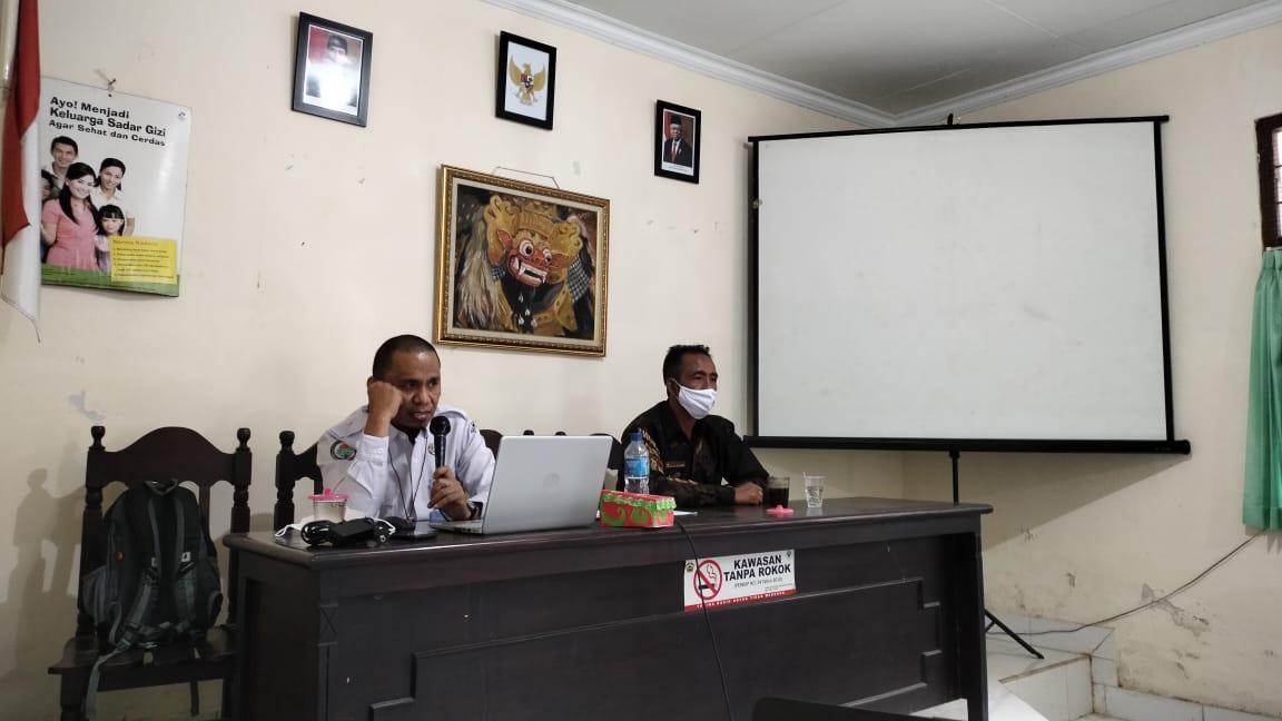 Diskusi Penyusunan RKP Desa Tembuku Tahun 2022